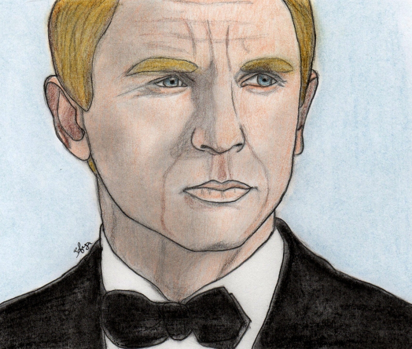 Daniel Craig by Sofya